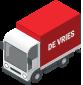 vrachtwagen - De Vries recycling